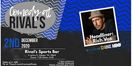 Comedy at Rival's with Rich Vos tickets