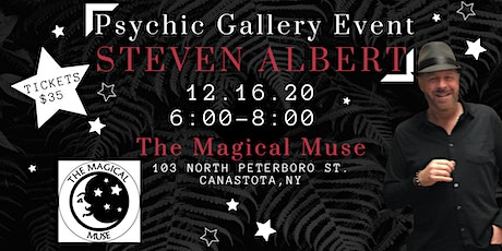 Steven Albert: Psychic Medium Gallery Event Magical Muse 12/16 tickets
