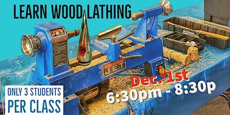 Learn Wood Lathing tickets