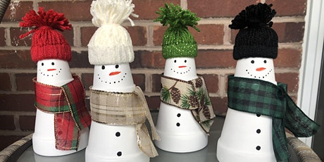 Virtual Craft Night: Planter Snowmen tickets