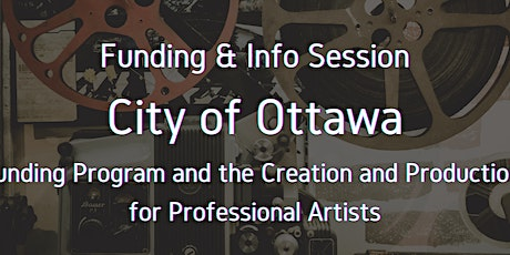 #Digi60 Funding Info Session with City of Ottawa's Marie-Christine Feraud tickets