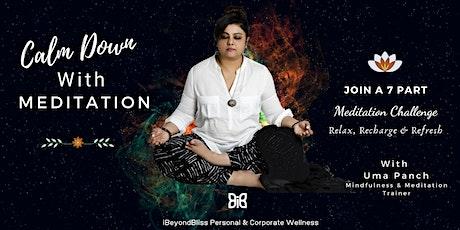 7 Part Mindfulness Meditation Challenge tickets