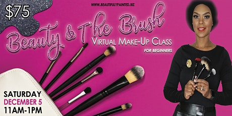 Beauty and the Brush Virtual Makeup Class biglietti