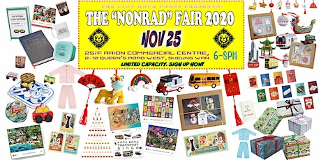 "THE ""NONRAD"" FAIR 2020 (NOV25) tickets"