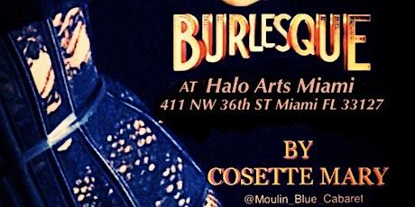 Burlesque Classes At Halo Arts Miami tickets