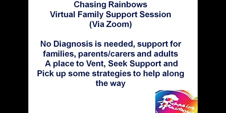 Chasing Rainbows Virtual Family Support Session tickets