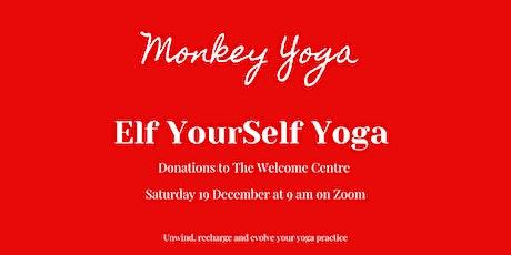Elf YourSelf Yoga [Virtual on Zoom] tickets