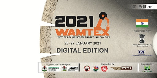 West Africa Manufacturing Technology Expo Tickets, Mon, Mar 8, 2021 at  10:00 AM   Eventbrite