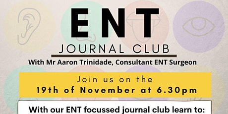 ENT Journal Club tickets