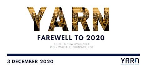 YARN Farewell to 2020 tickets