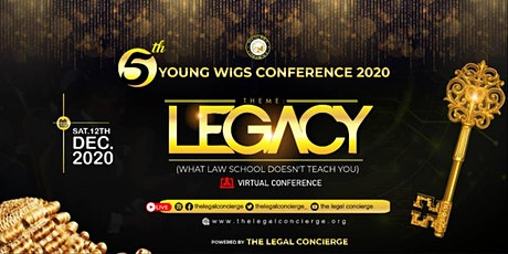 The Young Wigs Conference 2020 - LEGACY tickets