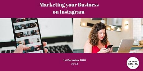 Marketing your business on Instagram tickets
