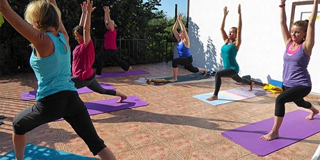 Zoom Yoga for beginners & mature students tickets