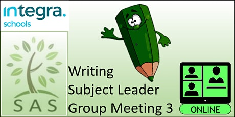 SAS Members - Writing Subject Leader - meeting 3 tickets