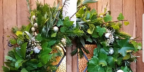 Gardening Lady Christmas Wreath Making Workshop 16 tickets