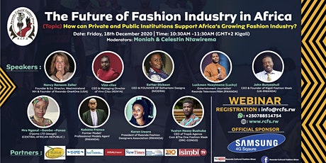 The Future of Fashion Industry in Africa tickets