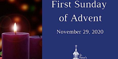 Holy Eucharist - November 29,  2020 tickets