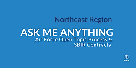NSIN Ask Me Anything:  SBIR Contracts - Northeast Region tickets