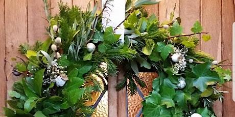 Gardening Lady Christmas Wreath Making Workshop 17 tickets