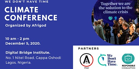 Climate Conference - Afrigod tickets