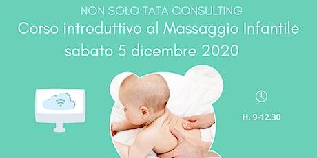 Corso Introduttivo al Massaggio Infantile biglietti