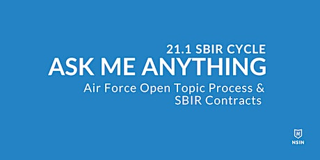 NSIN Ask Me Anything:  SBIR Contracts - Southeast Region tickets
