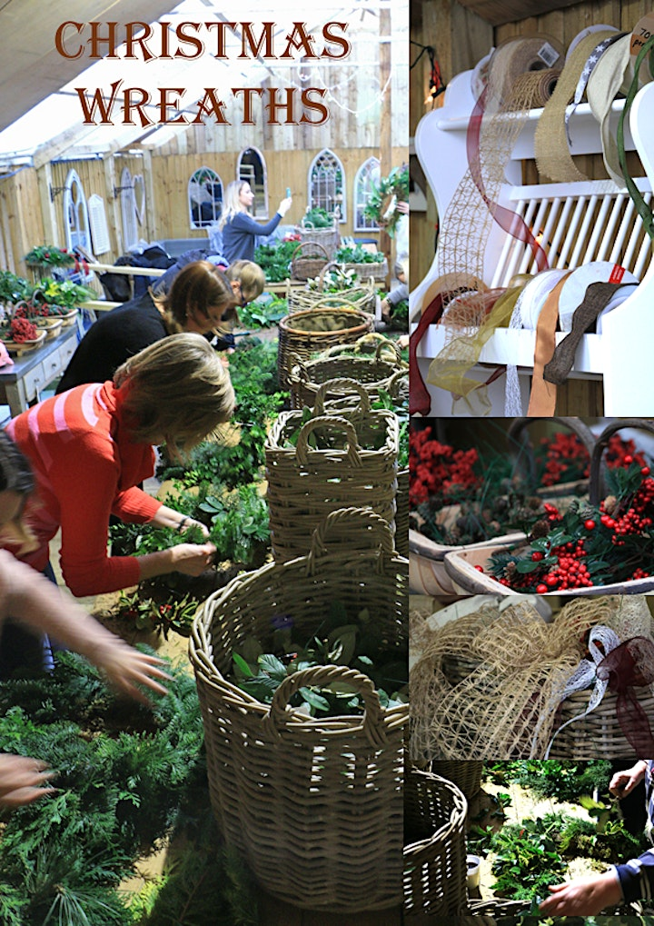 Holly Wreath Workshop With Jacky & Peter | 3rd Workshop Sat 4 Dec 2021 - AM image