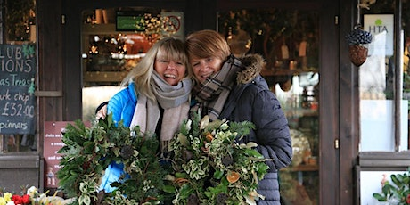 Holly Wreath Workshop With Jacky & Peter | 4th Workshop  Monday 6 Dec 2021 tickets