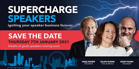 Supercharge Speakers 2021 - NEW YEAR, NEW START tickets