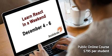Learn React in a Weekend tickets
