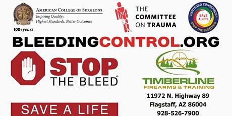 December 19th Stop the Bleed tickets