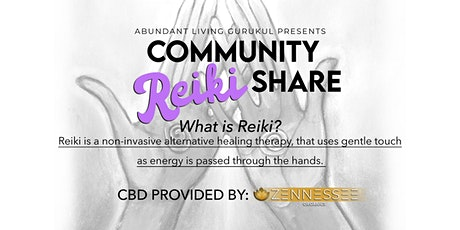 Community Reiki Share tickets