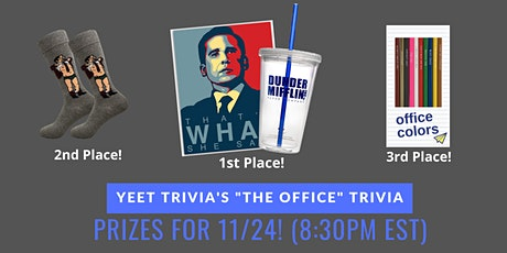 The Office Virtual Trivia 11/24 tickets