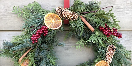 Virtual Wine and Wreath Making Night tickets
