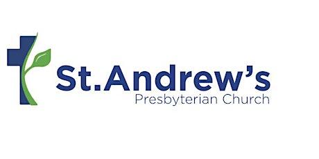 Sunday Gathered Worship at St Andrew's Pres Church, Bangor - 29th Nov 2020 tickets