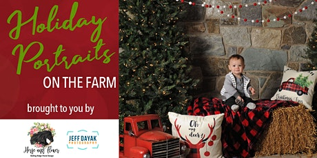 Holiday Farm Portraits 12/6 tickets