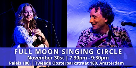 Novembers Full Moon Singing Circle with Leonie Bos & Terence Samson tickets
