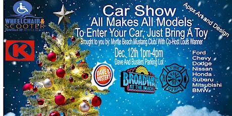 Toy Drive All Models,All Cars, Car Show tickets