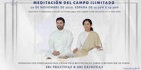 MEDITACIÓN DEL CAMPO ILIMITADO entradas