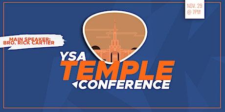 Regional YSA Temple Devotional tickets
