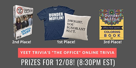 The Office Virtual Trivia 12/08 tickets