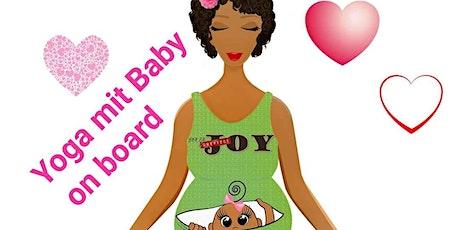 YOGA mit BABY an BOARD