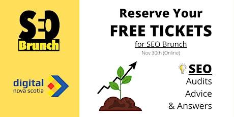 SEO Brunch (Nov 30th) tickets