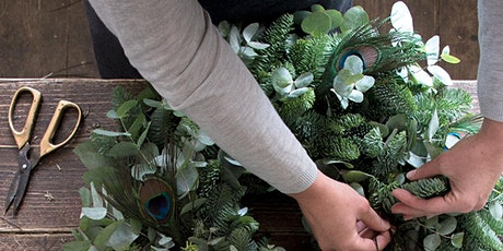 HOLIDAY WREATH MAKING CLASS 12/4 6PM tickets