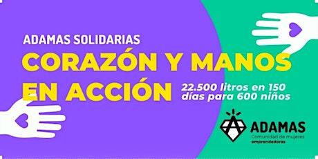 Adamas Solidaria - Corazón y Manos en Acción entradas