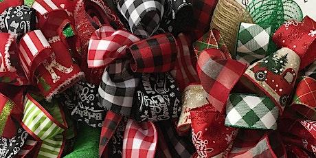 Christmas Decor Bow Class with Bobbie tickets