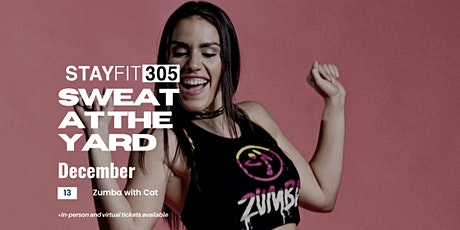 STAY FIT 305: Zumba with Cat tickets