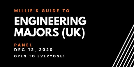 PANEL | Millie's Guide to Engineering Majors (UK) tickets