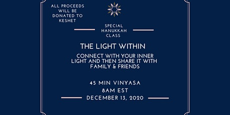 The Light Within: Special Hanukkah class tickets
