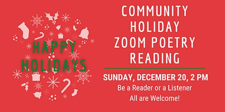Community Holiday Zoom Poetry Reading tickets